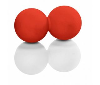 Myofascia Doubleball | red