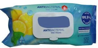 Antibacterial cloth / wet wipes, 120pcs