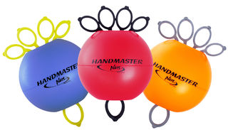 Handmaster plus Set of 3 purple-red-orange