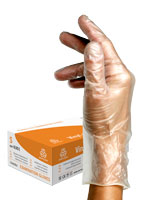 Powdered Vinyl Glove | 100 pcs | S