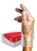 Powdered Vinyl Glove | 100 pcs | XL