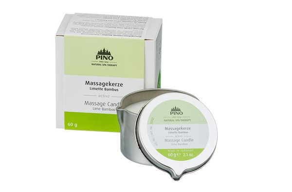 Massage Candle Lime & Bambu 60 g